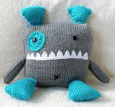Free monster pillow pattern