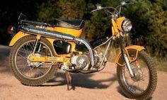 It's all apart of the dream. Honda Trail 90.