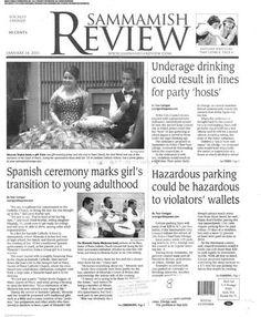 The Sammamish Review (Issaquah, Washington) newspaper archive - http://sam.stparchive.com/