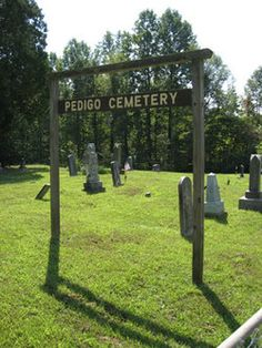 Pedigo Cemetery, Waterloo Township, Athens County, Ohio