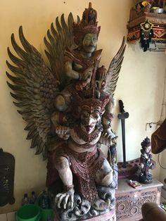 Garuda & Vishnu in Ubud, Bali @arunvis