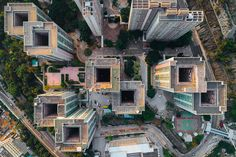hong kong-based photographer andy yeung highlights the plight of claustrophobic living in hong kong from a new perspective – the air.