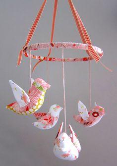 Lula Handmade - Bird Mobile