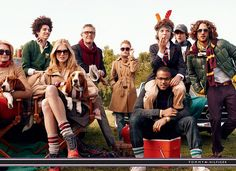 Ad Campaign: Tommy Hilfiger  Season: Fall Winter 2010  Models: Luis Borges, Max Motta, Max Rogers and Noah Mills   Website: www.tommyhilfiger.com