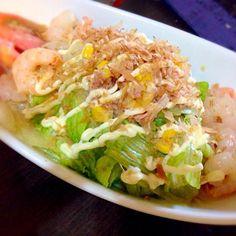 ガストのサラダうどんを再現! - 10件のもぐもぐ - サラダうどん by ojiki