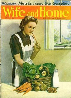 Lavender and Lovage | The Wartime Kitchen: Living of Rations with Ration Book Cooking – Day One | http://www.lavenderandlovage.com