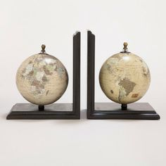 Love this --- Vintage Monde Bookend - traditional - accessories and decor - Cost Plus World Market