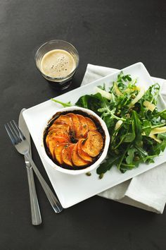 Mushroom and Stout Pot Pies with a Sweet Potato Crust