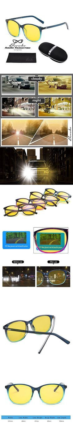 Night Driving Glasses Polarized Sunglasses Anti Glare Rainy Safe HD Night Vision Glasses