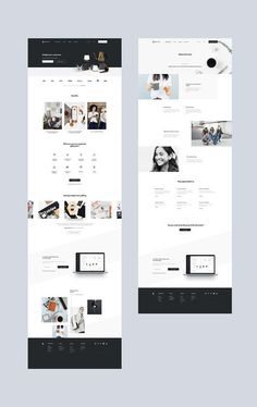 jpg by Mik Skuza - Modern Website Design Moder - Web Design Websites, Site Web Design, Graphisches Design, Wordpress Website Design, Web Design Tips, Layout Design, Modern Web Design, Web Design Trends, Best Web Design