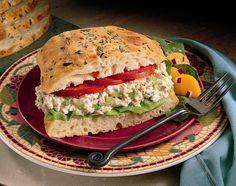 Bumble Bee Recipes - Salmon Salad Sandwich