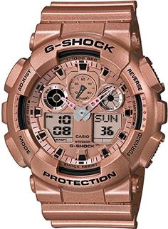 Casio Mens GA100GD9AJF GShock Crazy Gold Series Wrist Watch ** Want to know more, click on the image. (This is an Amazon affiliate link)