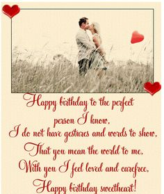 Happy Birthday Romantic Quotes