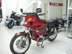 BMW R 100 RT - my current bike. Great for travelling, great for travelling fully loaded. Great handling, strong like a bear!