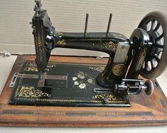 Antique Kohler Handcrank Sewing Machine Vintage sewing | Etsy Sewing Art, Sewing Toys, Office Ornaments, Art Gallery, Antique Sewing Machines, Vintage Home Decor, Decoration, Vintage Photos, Vintage Antiques