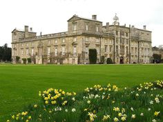 Wilton House, Wiltshire. I have carried out colour measurements on the interior.