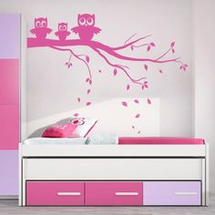 Decore com o vinil infantil família corujas e torne os espaços infantis mais divertidos. Conheça as nossas ideias originais para decorar os quartos infantis e personalize as paredes com vinil de animais. Decor, Home Decor Decals, Home Decor, Decals