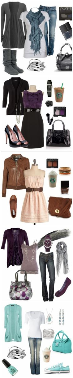 Check out this blog. Tons of cute outfits!