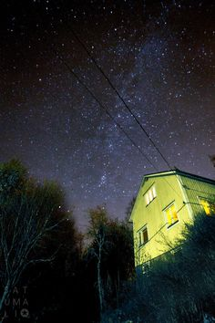 Home under the milky way
