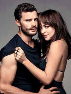 Jamie Dornan Joins Fifty Shades of Grey Co star Dakota Johnson for Glamour March 2015 Cover Shoot Fifty Shades Of Darker, Shades Of Grey Film, Mr Grey, Christian Grey, Jamie Dornan, Fifty Shades Series, Fifty Shades Movie, Dakota Y Jamie, Cover Shoot