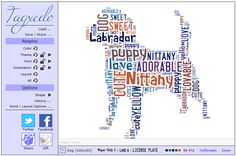 Leslie here and I want to show you a website that can add something different to your pages—make fun groups of words using Wordle or Tagxedo. For purposes of this tutorial, I'm going to demon… Word Cloud Art, Word Clouds, Word Art, Photoshop Elements Tutorials, Photoshop Tips, Emoji Words, Word Collage, Book Creator, Business Cards