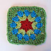 Ravelry: Little Circle Square pattern by Kate Jenks