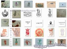 Majolica+Identification | Whether you're looking for antique pottery marks, porcelain marks ...
