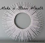 The Cranky Crafter Makes a Straw Wreath