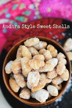 Andhra Style Sweet Shells #Recipe