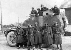 """Fiat-SPA """"Self-protected"""" S37: Armored Personnel Carrier, APC: by Piemontese Company. (SPA) and adopted by the Fascist Royal Army during WWII."""