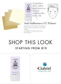 """""""Anti-Sallowness CC Primer"""" by jeanamelia on Polyvore featuring beauty"""