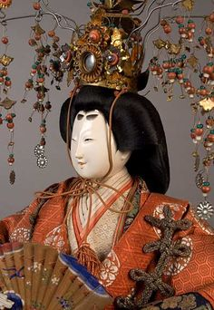 雛人形 Antique Japanese Dolls for Hina Matsuri Festival