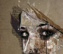 Inspiring image art, eyes, gorgeous, illustration, ink, mixed media, woman #298502 - Resolution 595x842px - Find the image to your taste