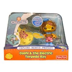 Octonauts Figure & Creature Pack Dashi And The Electric Torpedo Ray: Amazon.co.uk: Toys & Games