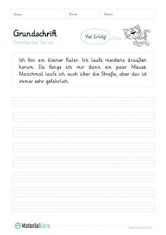 A free worksheet for practicing basic writing, on which students can … - Bildung Sky Blue Weddings, German Language Learning, Maxime, Wedding Table Settings, English Vocabulary, Handwriting, Worksheets, Homeschool, Student