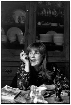 Henri Cartier-Bresson  //     French actress, Jeanne Moreau, 1978.
