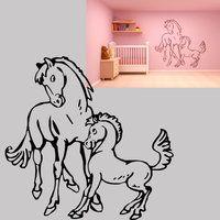 sjabloon paarden