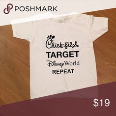 Chick-fil-A Target Disney World Shirt Brand new. Custom made. Comment below what size you need. Tops Tees - Short Sleeve