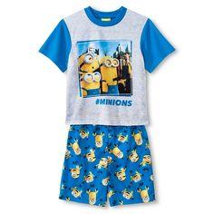 Minions Boys' Pajama Set - Blue