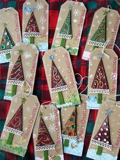 Christmas tags by timbrettopoli, via Flickr