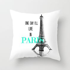 One Day Throw Pillow by Veronica Ventress - $20.00
