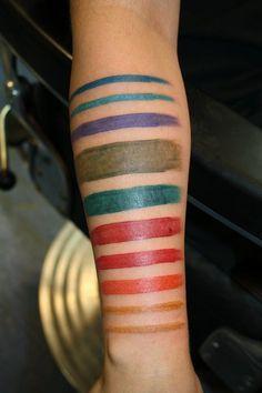 paintbrush tattoo - Google Search