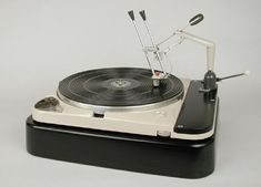 Prototype of the 'Bajulaz' tonearm on a TD-124 turntable. http://www.pinterest.com/TheHitman14/the-record-player-%2B/