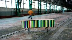 Újrahasznosított bútorok a RU édition-tól