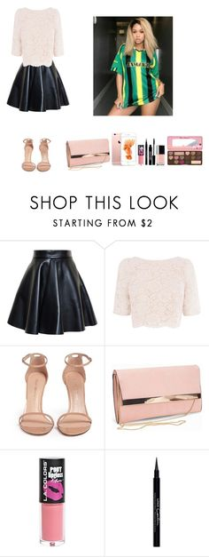 """""""-Dolly"""" by theflawless-doll on Polyvore featuring MSGM, Coast, Stuart Weitzman, New Look, L.A. Colors, Givenchy, Lord & Berry, Too Faced Cosmetics and Anaïs"""