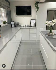Luxury Kitchen Design, Kitchen Room Design, Home Room Design, Home Decor Kitchen, Interior Design Kitchen, Kitchen Furniture, Home Kitchens, Open Plan Kitchen Living Room, Cuisines Design