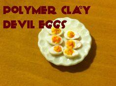 Devil Eggs: Polymer Clay Tutorial