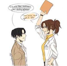 Levi and Hanji