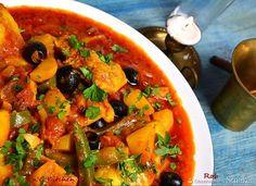 Menu Wędrowca Starego  i nie tylko.: Curry z dorsza i pomidorów