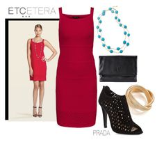 ETCETERA Spring 2014 - Complete your look by etcetera-nyc on Polyvore featuring polyvore, fashion, style, Prada, Armani Exchange, Etcetera and clothing
